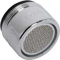 Do it 1.5 GPM Dual Thread Faucet Aerator with On//Off Switch 487171-1 Each
