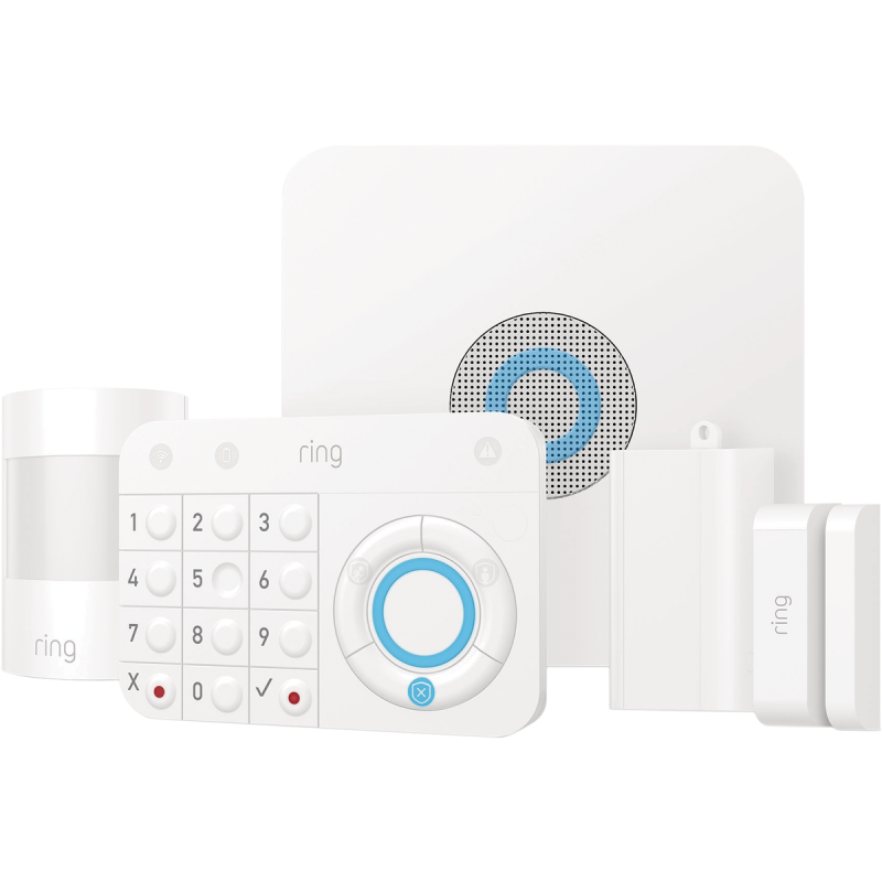 Ring Home Motion Activated Alarm Kit White