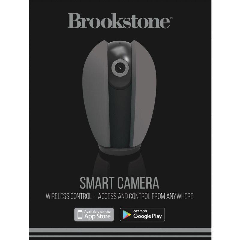 Brookstone Smart Security Camera Gray