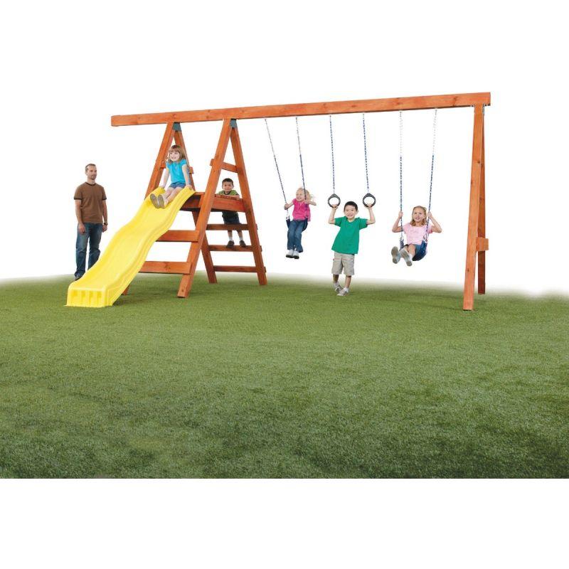 Swing N Slide Pioneer Swing Set Kit Lumber, slide, and wood screws not included