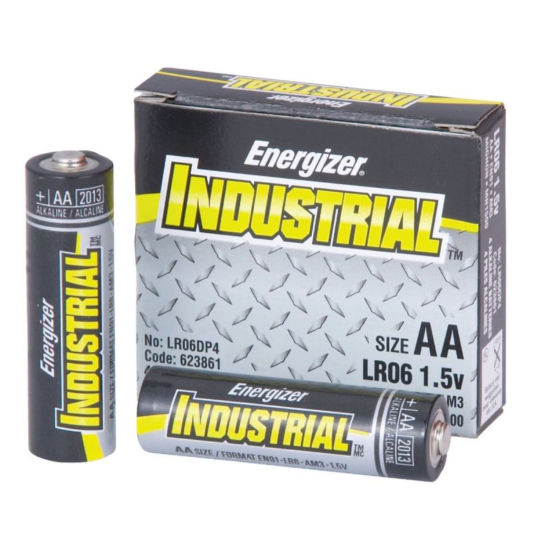 Energizer Industrial AA Alkaline Battery 2850 MAh (Pack of 24)
