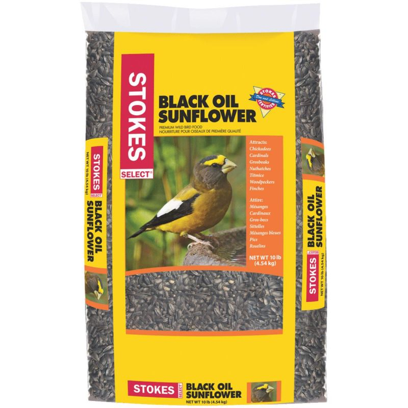 Stokes Select Black Oil Sunflower Seed 10 Lb.