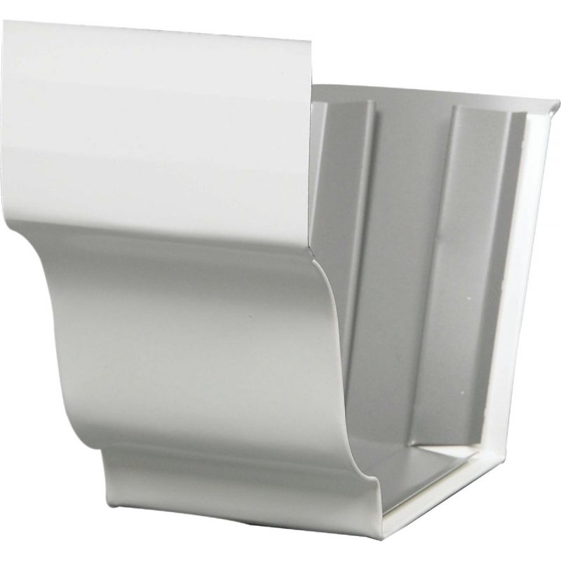 Amerimax Galvanized Slip-Joint Connector White