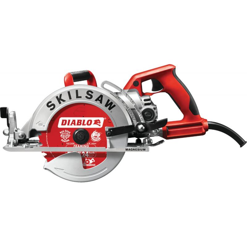 SKILSAW 7-1/4 In. Lightweight Magnesium Worm Drive Circular Saw 15A