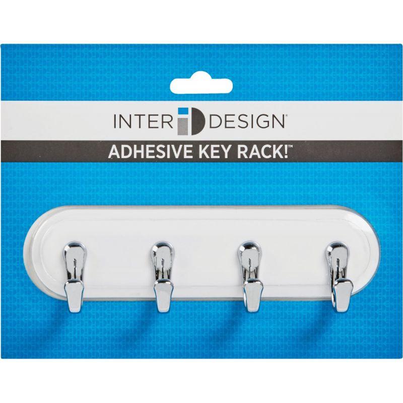 InterDesign York Key Rack White