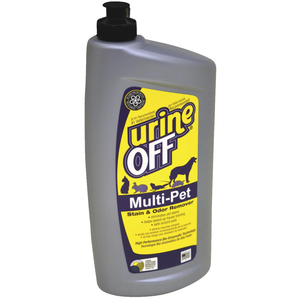 Dog Urine Carpet Stain Removal: Buy Urine Off Multi-Pet Stain & Odor Remover 32 Oz