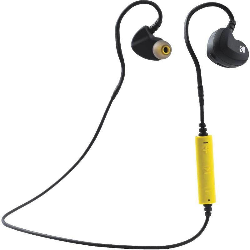 Kicker EB300 Bluetooth Earbuds Black