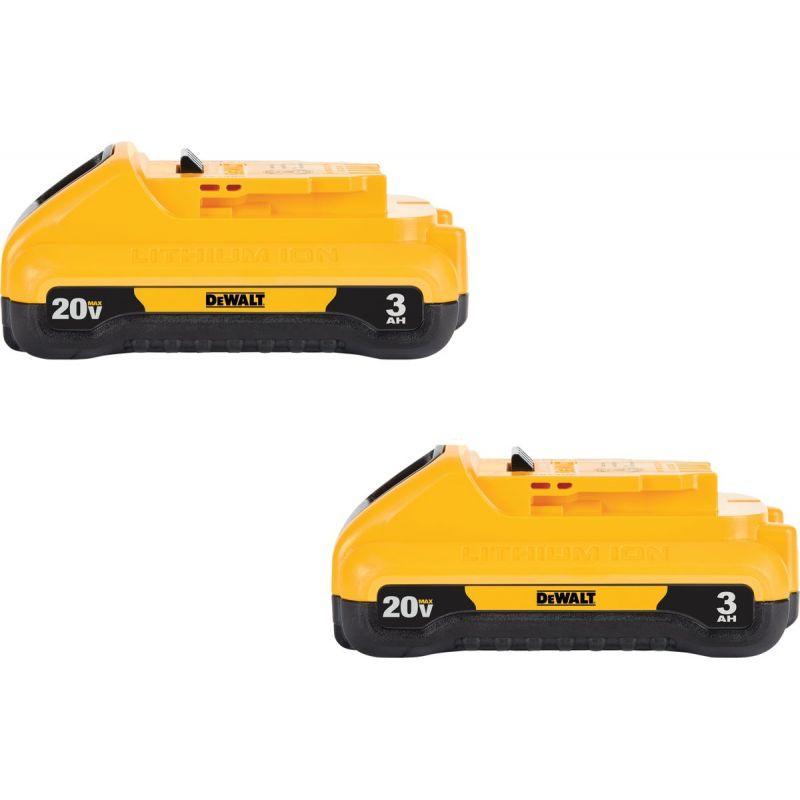 DeWalt 20V MAX Li-Ion Tool Battery (2-Pack)