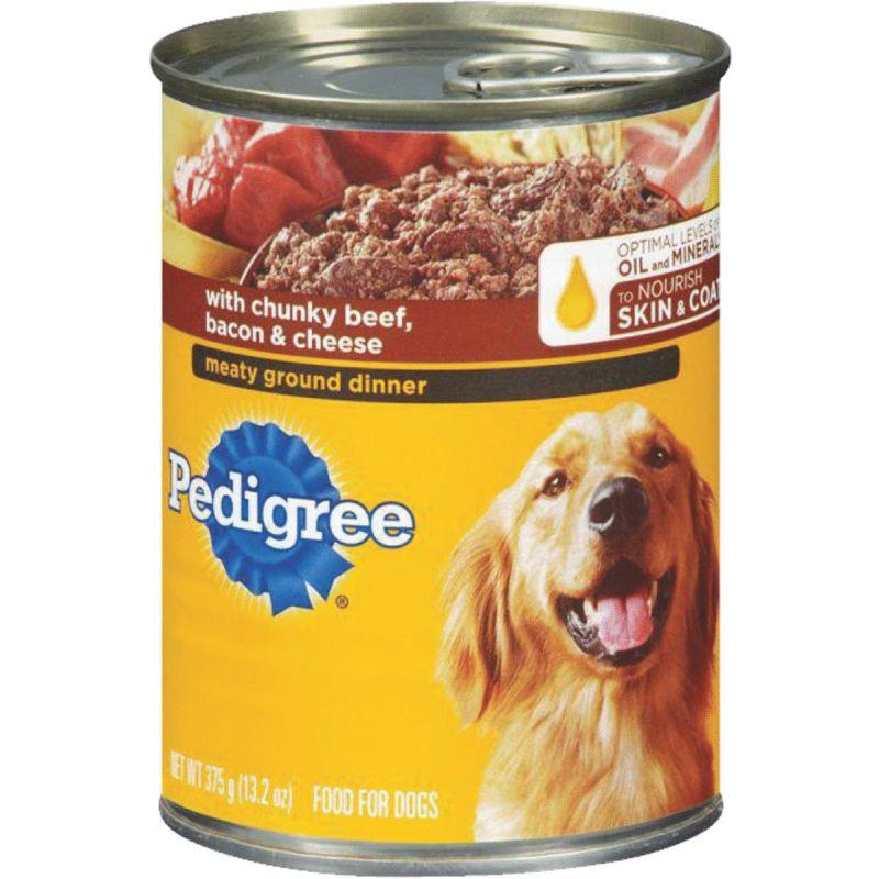 Pedigree Meaty Ground Dinner Wet Dog Food 13.2 Oz.