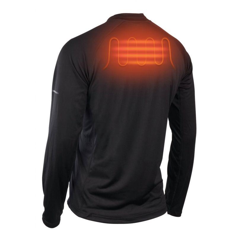 Milwaukee Workskin Heated Midweight Base Layer Shirt L, Black, Long Sleeve