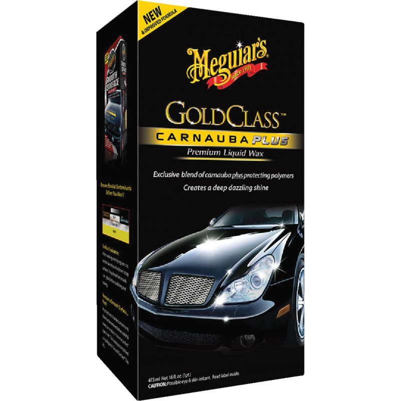 Meguiars Gold Class Liquid Car Wax 16 Oz.
