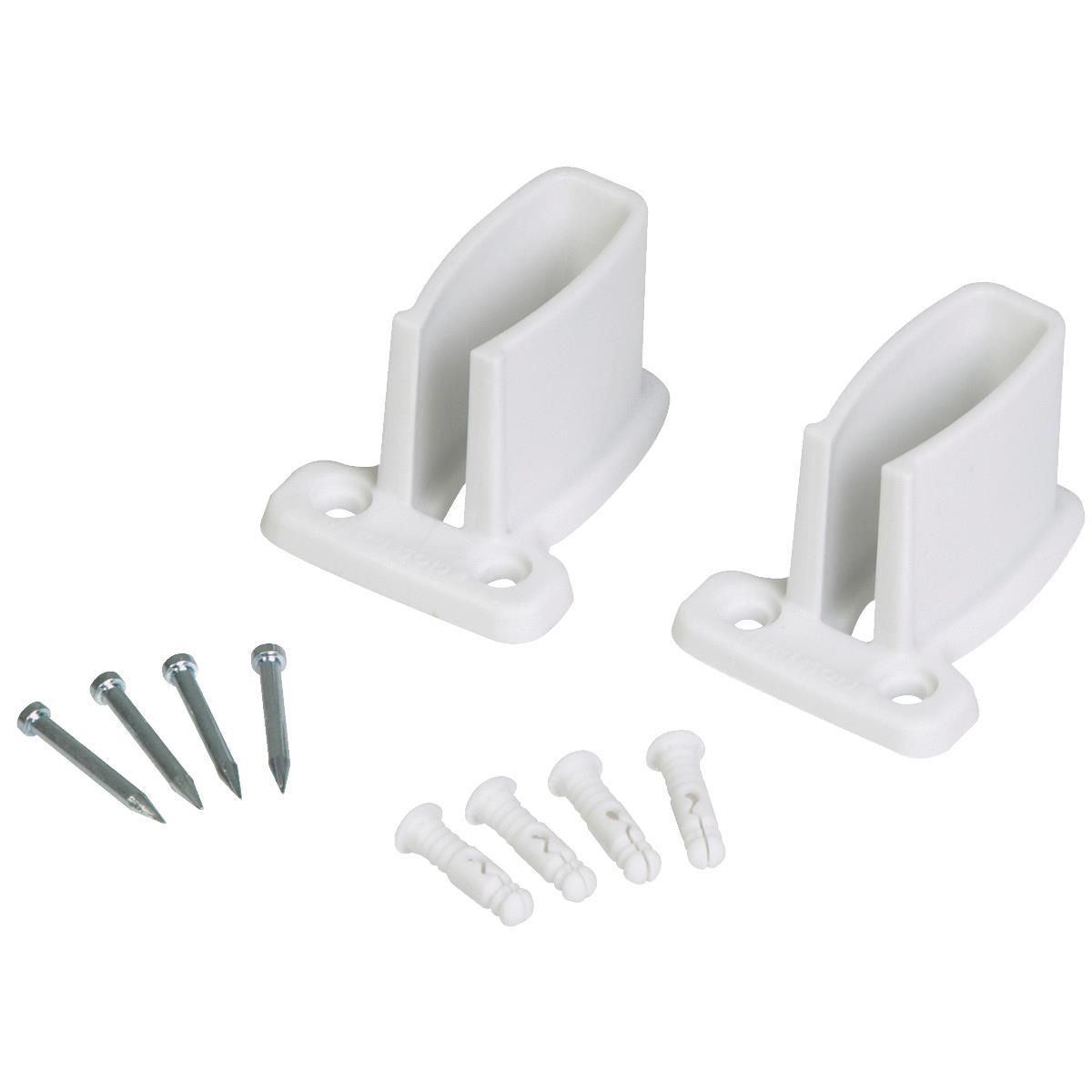 Buy Closetmaid White Wire Shelf Wall Bracket White