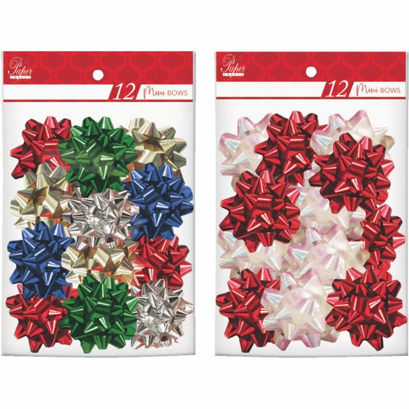 Paper Images Mini Gift Bow Mini (Pack of 48)