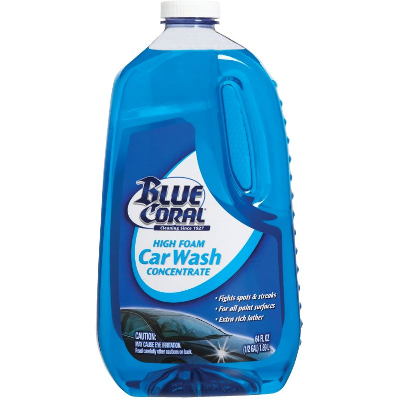 BLUE CORAL Concentrate Car Wash 64 Oz.