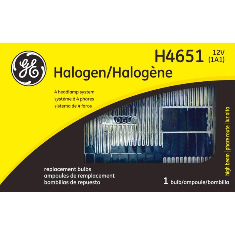 GE Halogen Sealed Beam Headlight