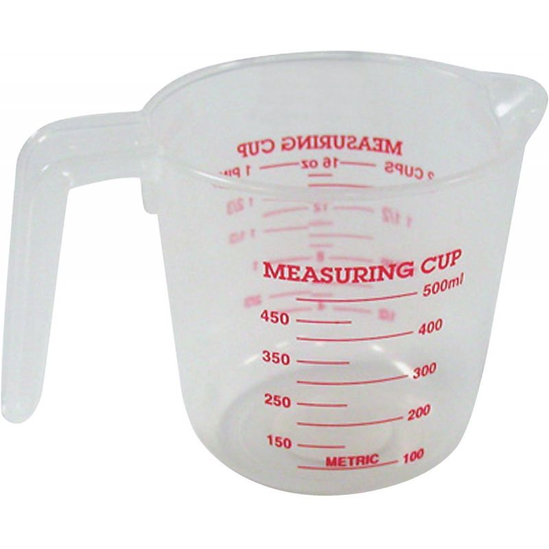 Norpro Plastic Measuring Cup 2 Cup, White