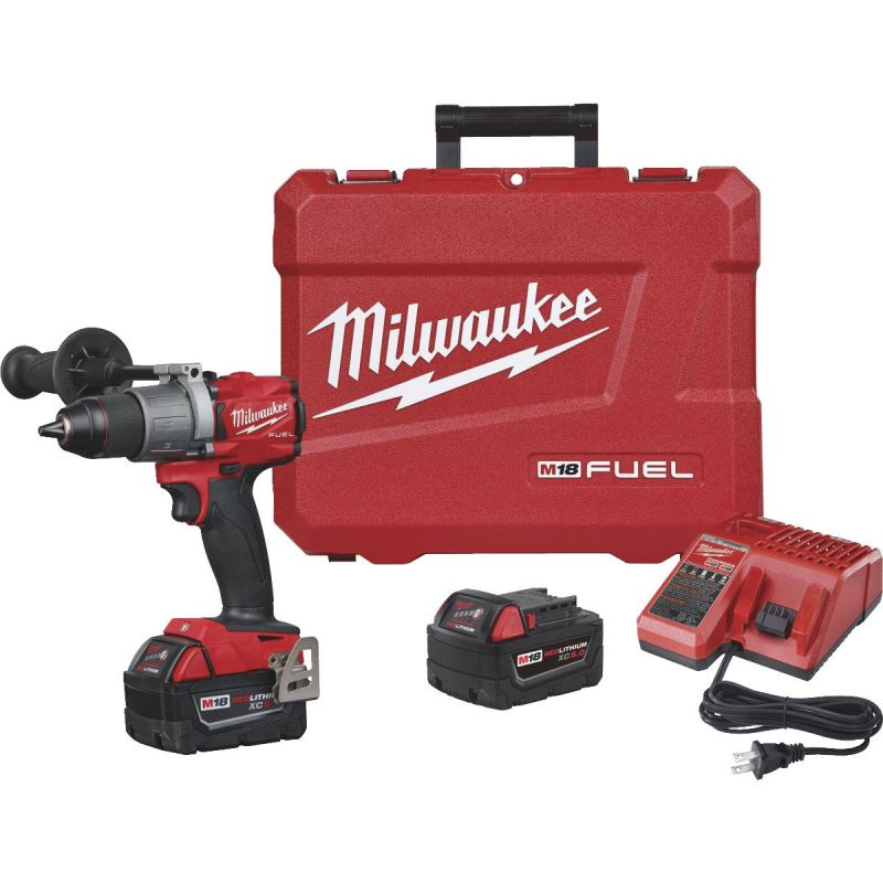 Milwaukee M18 FUEL XC Lithium-Ion Brushless Cordless Drill Kit