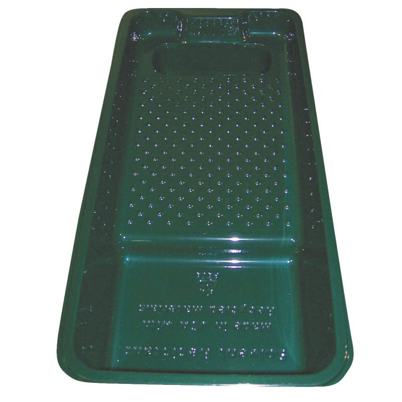Leaktite 4 In. Plastic Trim Paint Tray 4 In., 1 Qt., Green