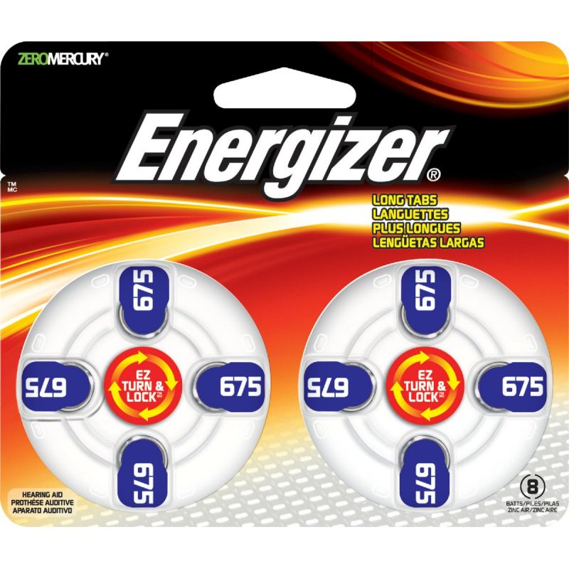 Energizer EZ Turn & Lock Hearing Aid Battery Blue