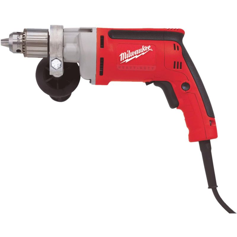 Milwaukee Magnum 1/2 In. VSR Electric Drill with Tactile Grip 1/2 In., 8A