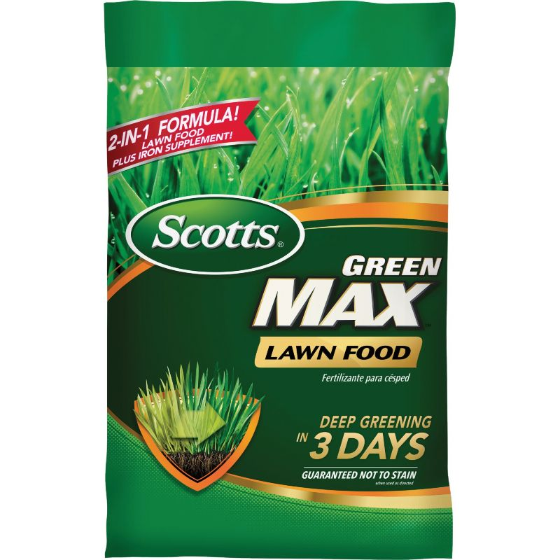 Scotts Green Max Lawn Fertilizer 16.9 Lb.