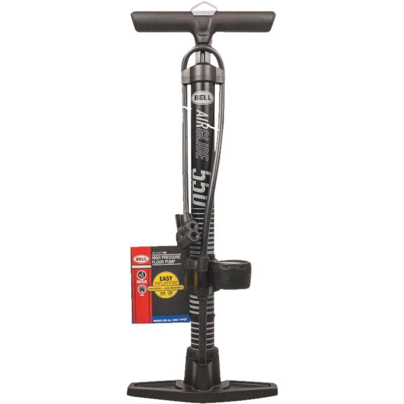 Bell Sports Floor Pump With Gauge