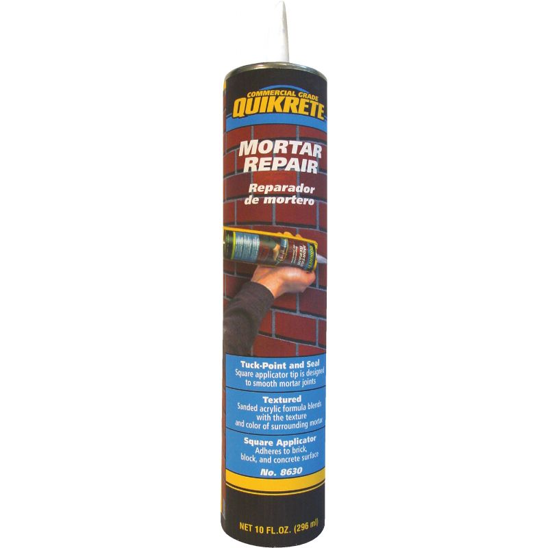 Quikrete Acrylic Mortar Repair Sealant 10 Oz., Gray