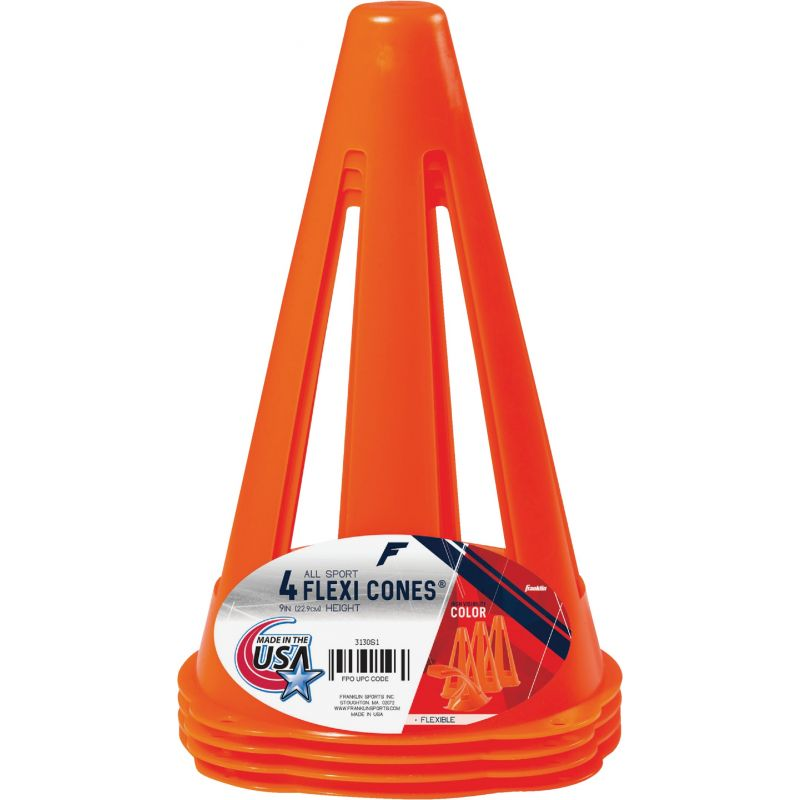 Franklin Flexi Cones Field Marker Cone Fluorescent Orange
