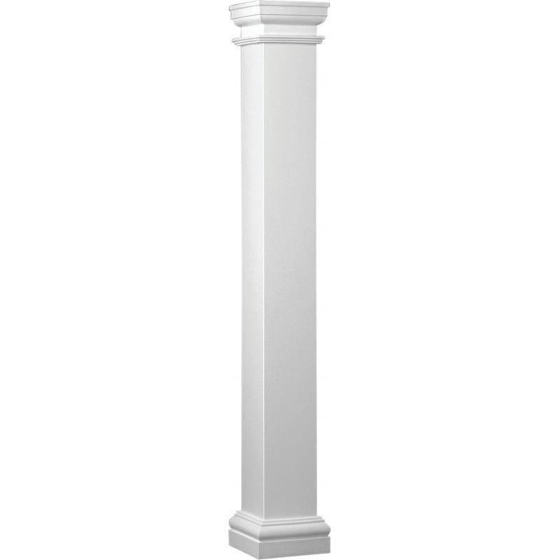 Crown Column Duralite Fiberglass Column White