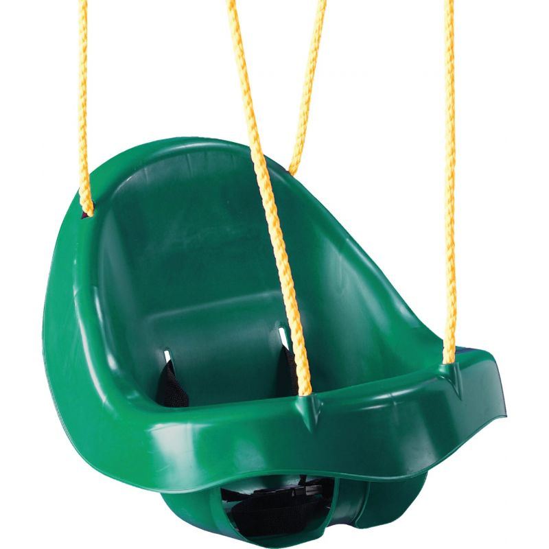 Swing N Slide Toddler Seat Swing Green