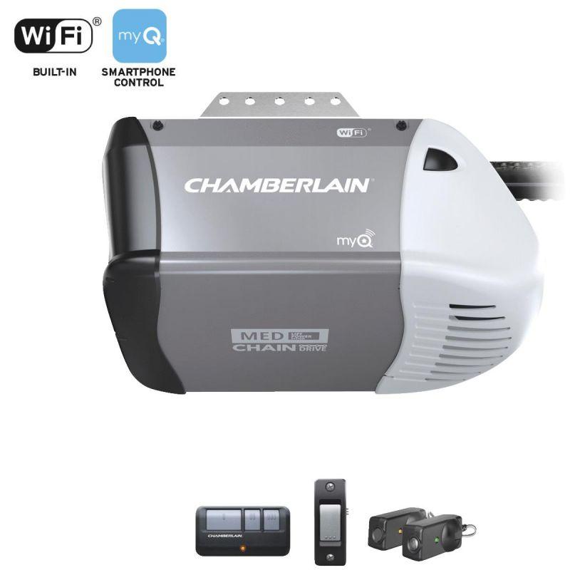 Chamberlain C-253 1/2 HP Wi-Fi Chain Drive Garage Door Opener