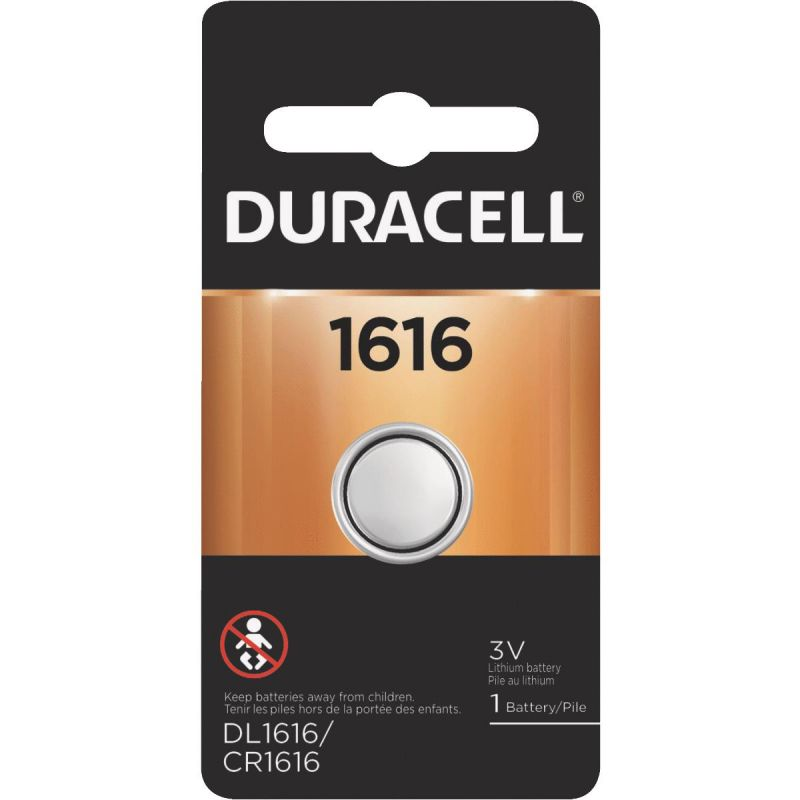 Duracell 1616 Lithium Coin Cell Battery 50 MAh