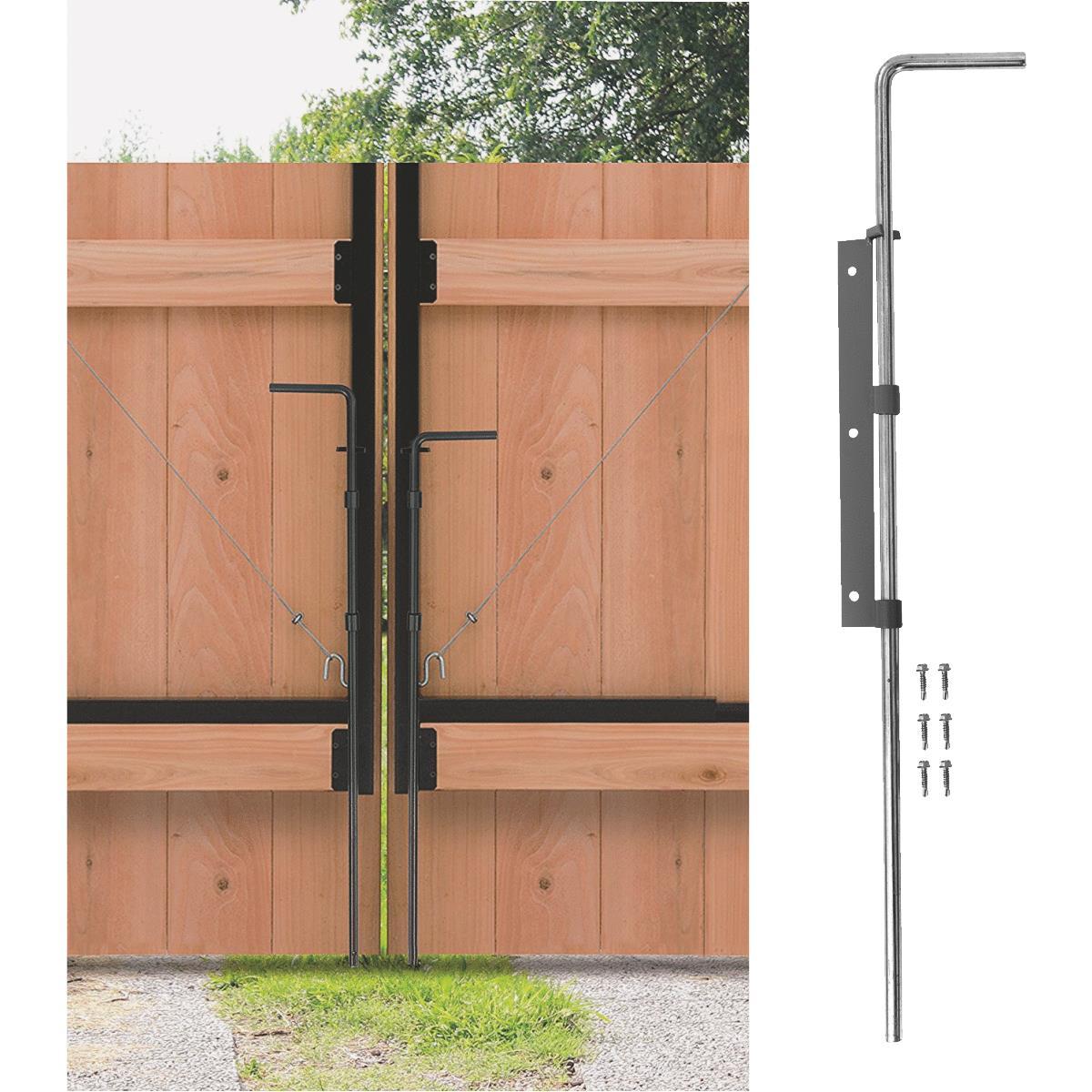 Buy Jewett Cameron Adjust A Gate Drop Rod Kit Cane Bolt Black