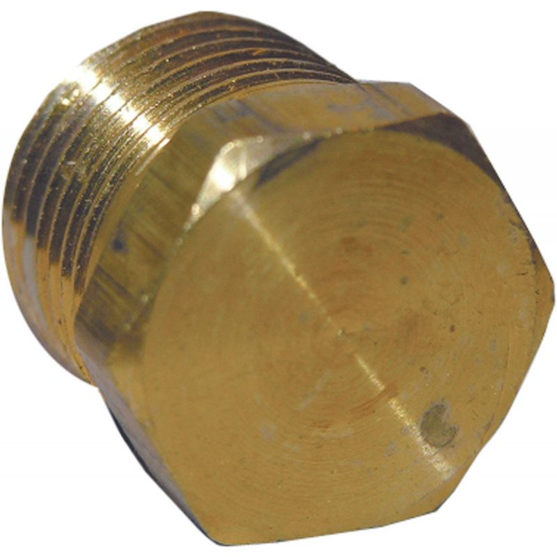 "Lasco Brass Hex Head Plug 3/8"" MPT"