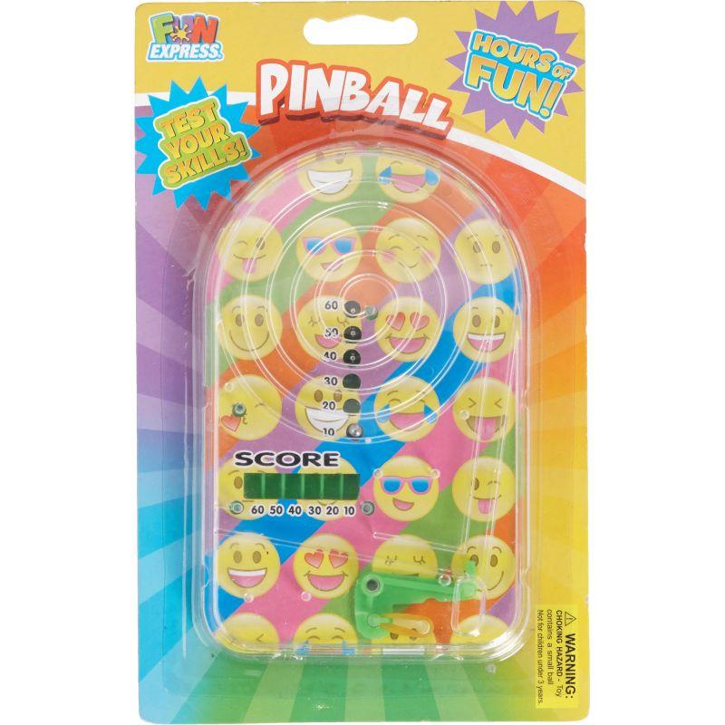 Fun Express Emoji Pinball Game (Pack of 6)