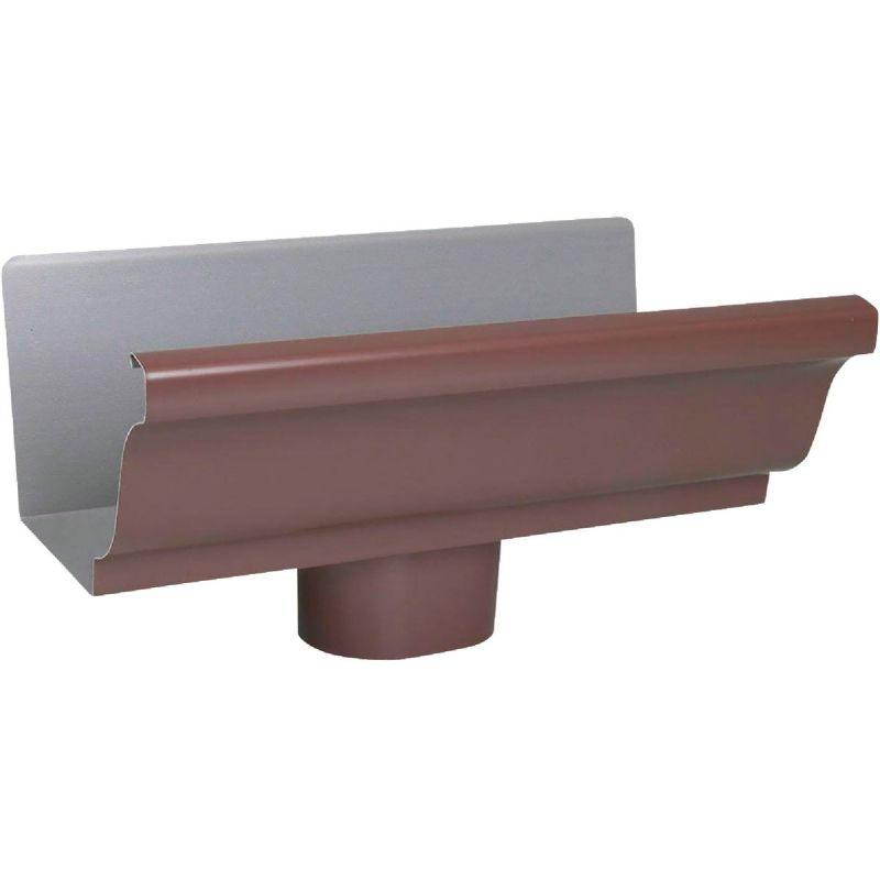 Spectra Metals Aluminum Gutter Drop Brown