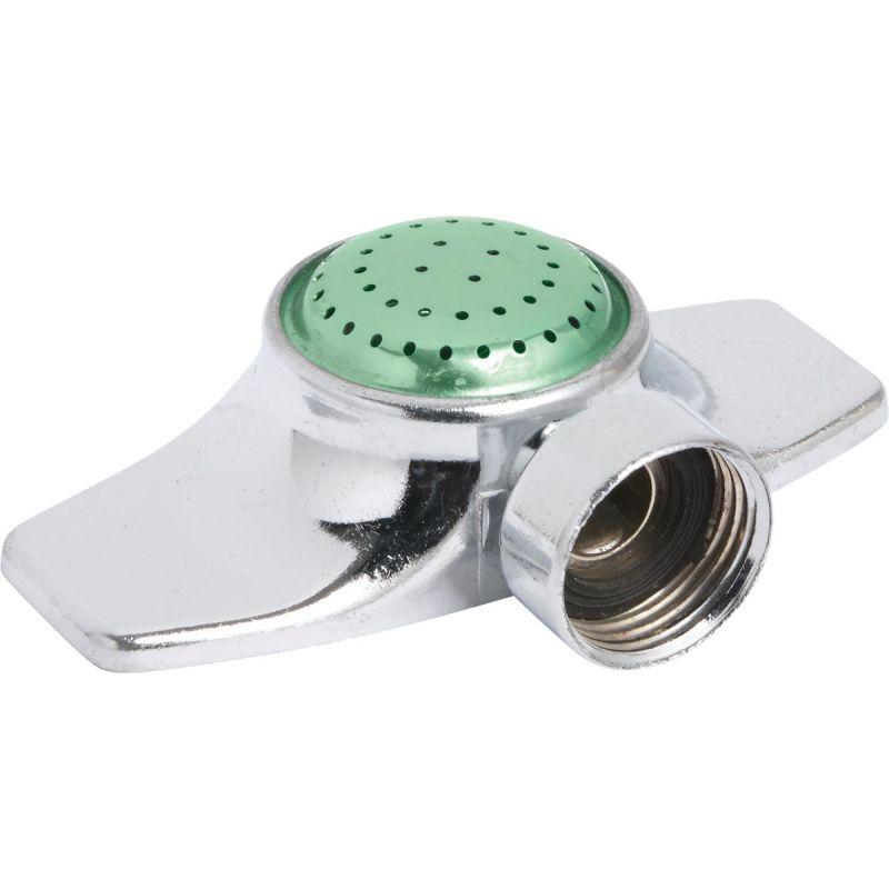 Best Garden Metal Spot Stationary Sprinkler Metallic & Green