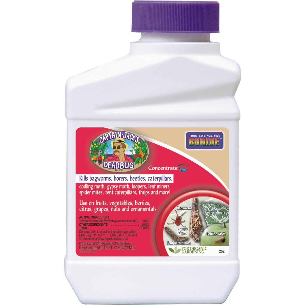 Bonide Captain Jack's Deadbug Brew Insect Killer 16 Oz , Pourable