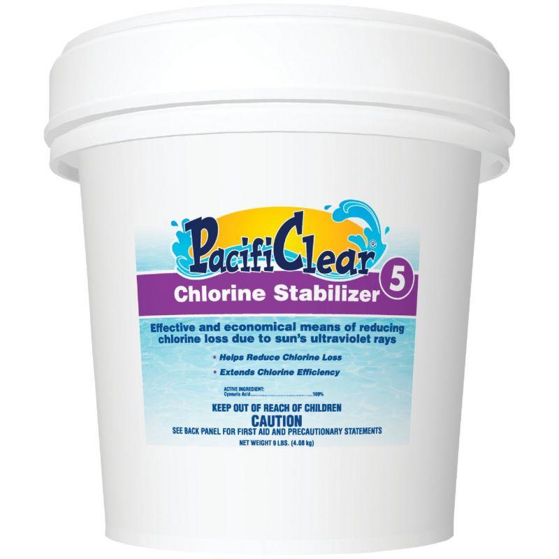 PacifiClear Chlorine Stablilizer Granule 9 Lb.