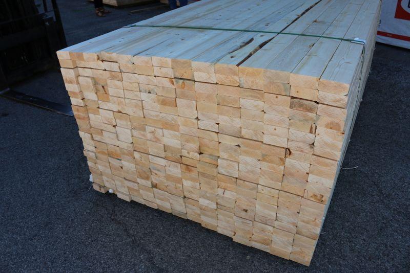 "2"" x 4"" x 8' SPF Construction Grade Lumber"