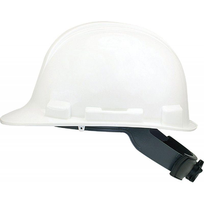 Safety Works Cap Style Wheel Ratchet Hard Hat Universal, White