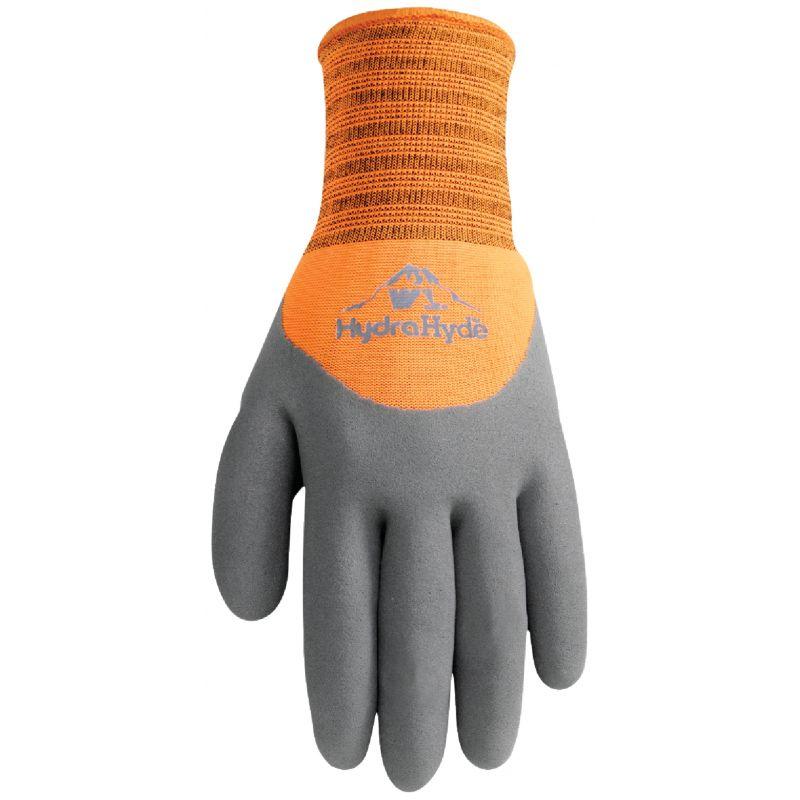 Wells Lamont HydraHyde Men's Work Gloves L, Gray & Orange