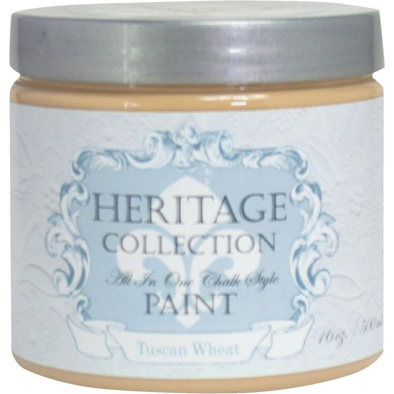 All-In-One Chalk Style Paint Tuscan - Golden Tan Pint