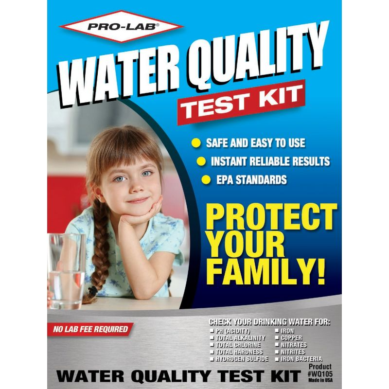 Pro Lab Water Quality Test Kit