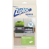 Ziploc Space Bag Vacuum Seal Flat Combo Storage Bag