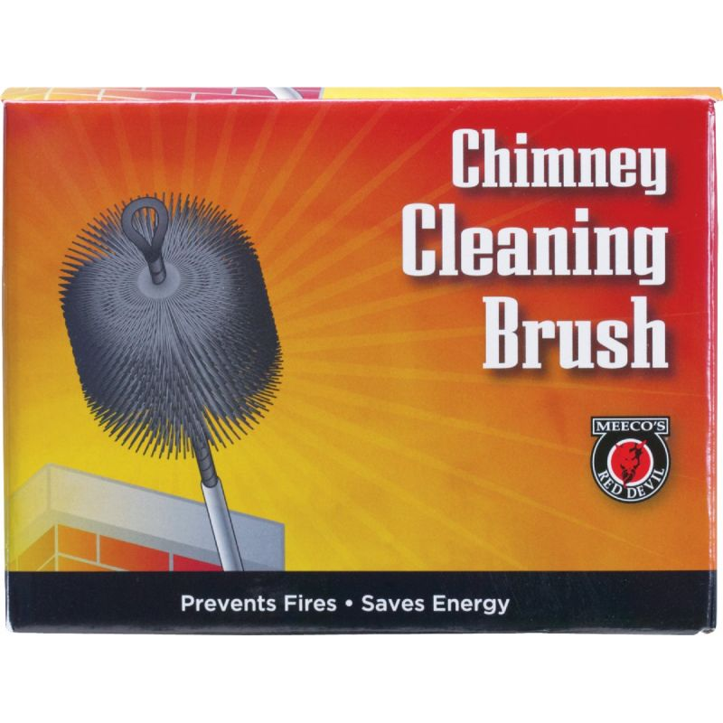 Meeco's Red Devil Wire Chimney Brush 7 In.