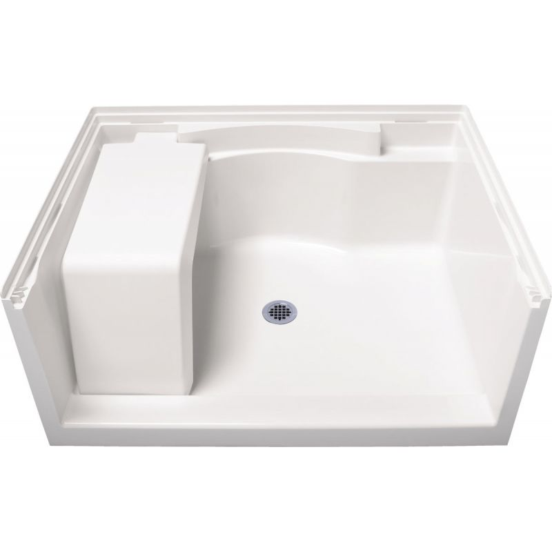 Sterling Accord Shower Floor & Base 48 In. W X 36 In. D, White