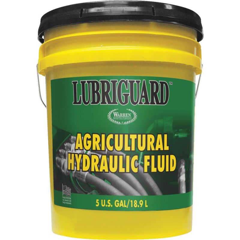 Lubriguard Tractor Transmission and Hydraulic Oil Light Amber, 5 Gal
