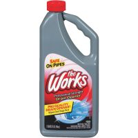 The Works Professional Strength Liquid Drain Cleaner Opener
