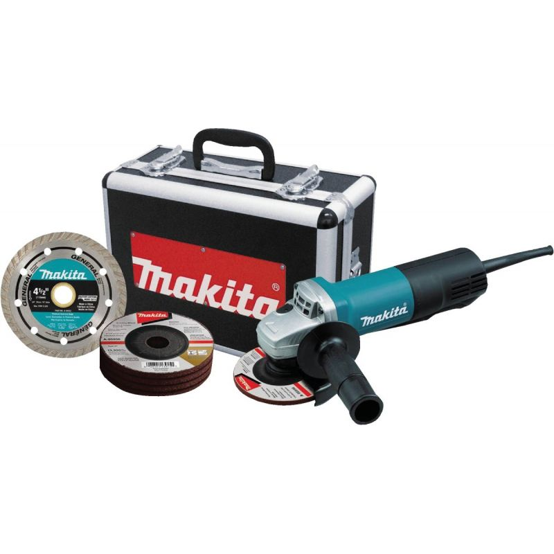 Makita 4-1/2 In. 7.5A Cut-Off/Angle Grinder 7.5A
